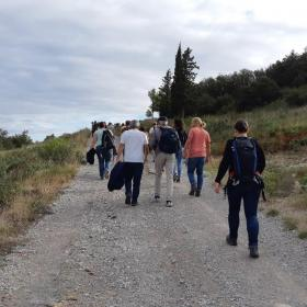 Visite des garrigues de la Lauze (34) © CENCA